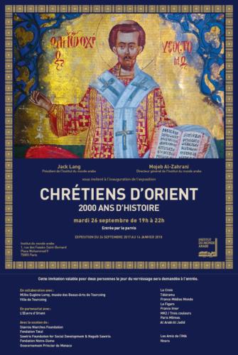 2017.09.26 -- Chrétiens d'Orient
